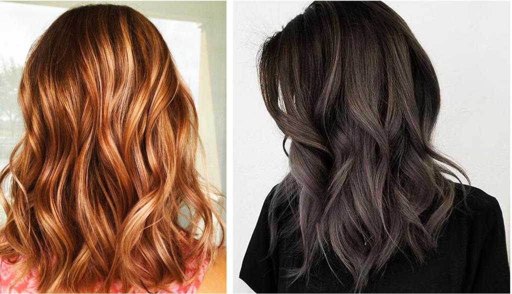 Однотонне фарбування волосся