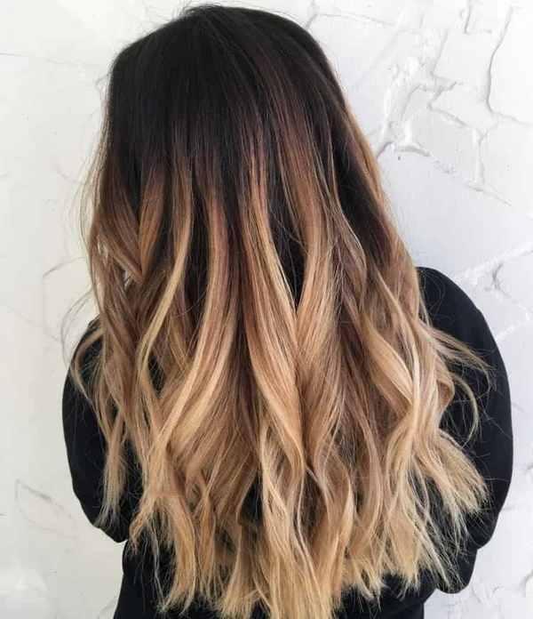 Фарбування волосся омбре