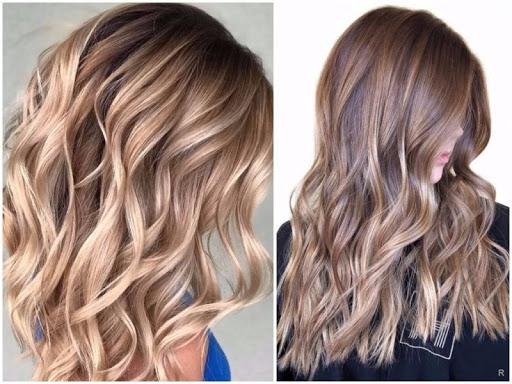 Фарбування волосся Шатуш