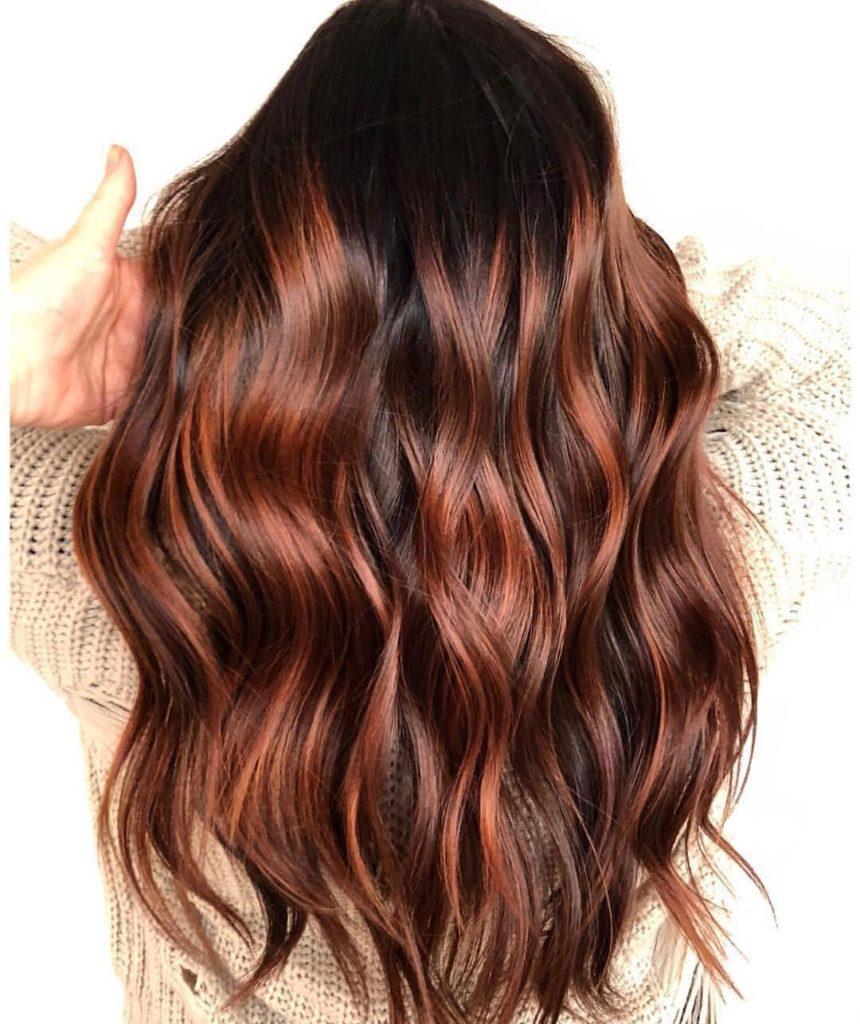 Тонування волосся колір каштан