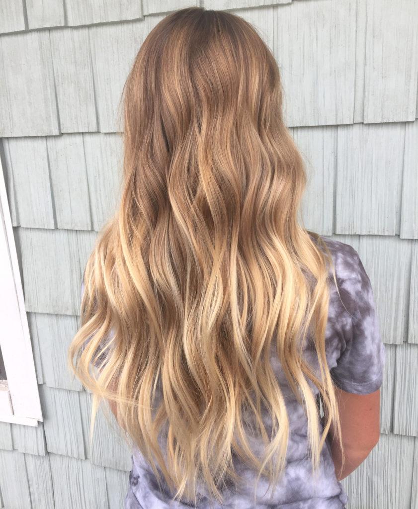 Варианты окрашивания волос балаяж на светлые волосы