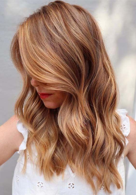 Варианты окрашивания волос балаяж на русые волосы
