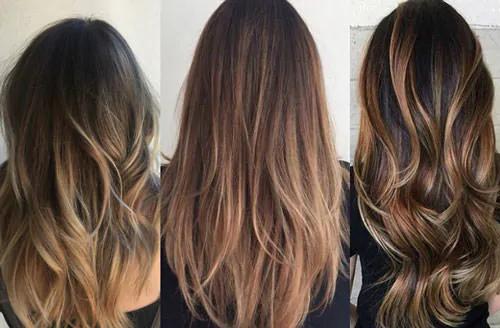 Окрашивание волос балаяж - самая популярная техника
