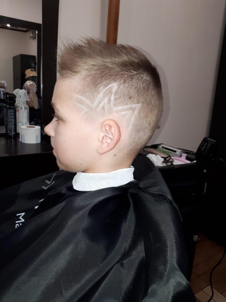 Стрижка для мальчика Hair tatoo Фото 2 Салон Корпорация красоты Киев Печерск